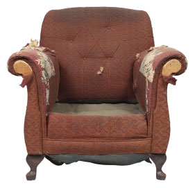 Furniture Medic of Niagara Upholstery and Leather Furniture Repairs and Restoration Before